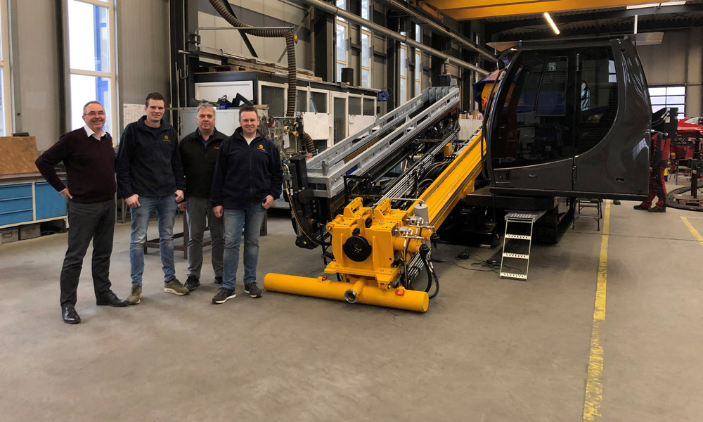 "New Prime Drilling ""Mini-compact drilling rig"" for Holland Drilling"