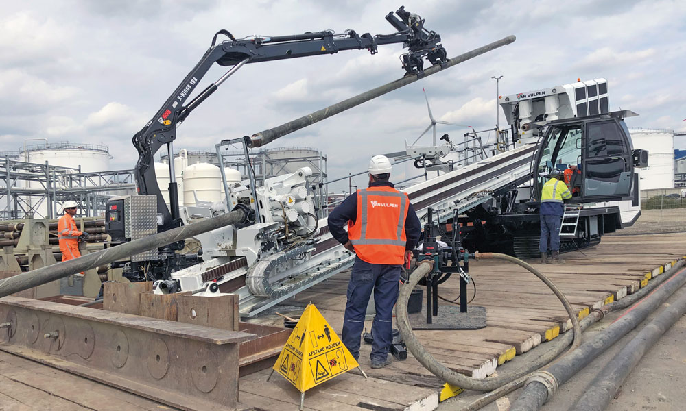 Prime Drilling delivers first electric drill rig to the Netherlands